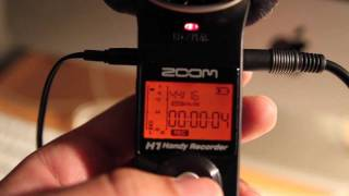 Audio Training  - Part 1 - Operating the Zoom H1