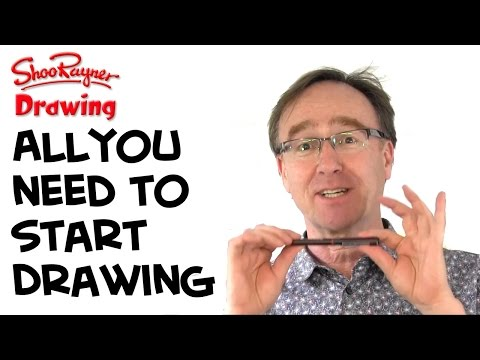 What do you need to start drawing?