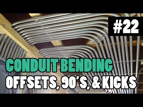 Episode 22 - How To Bend Conduit - 1/2