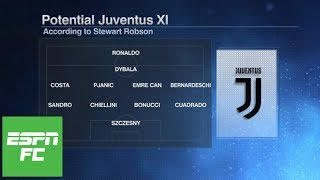 How will Juventus line up in Cristiano Ronaldo