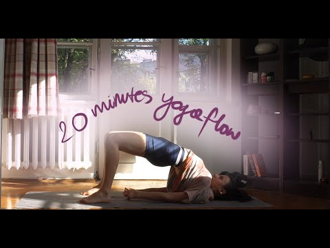 20 minutes back pain yoga flow  youtube