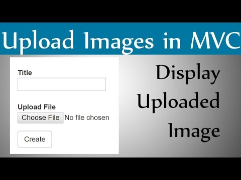 How to Upload Image And Display Image in Asp Mvc With An Example