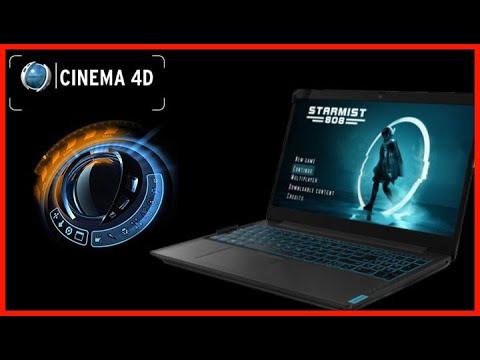 Lenovo Ideapad L340 I5 9300H Cinema 4D / C4D - 3D Modeling First Animation Render