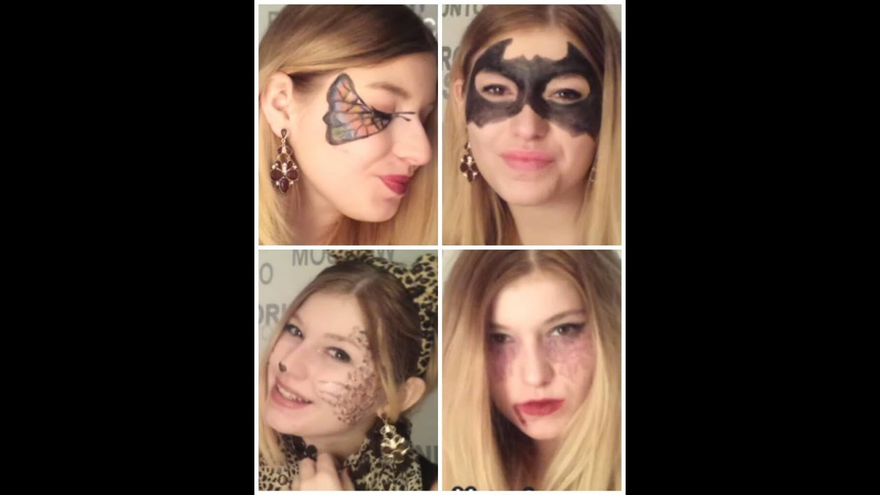 4 schnelle und einfache make up tutorials f r fastnacht fashion surrounded youtube