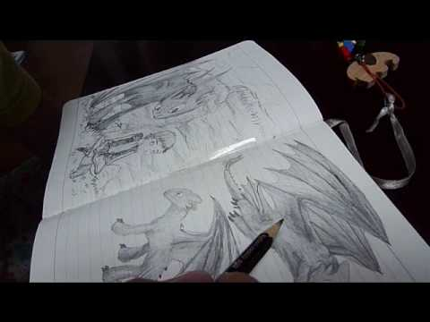 How To Train Your Dragon Night Fury Tribute Drawings Youtube