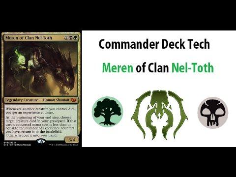Meren of Clan Nel Toth - EDH Commander - Deck Analysis