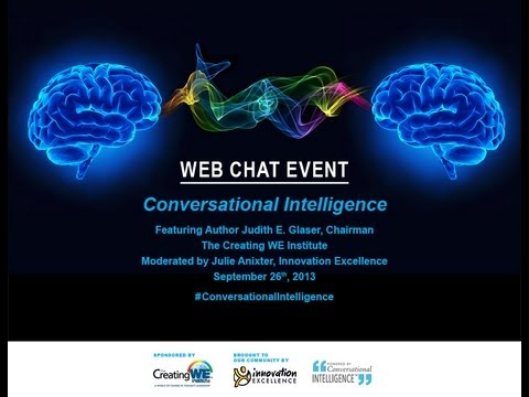 Innovation Excellence: Conversational Intelligence with Judith E. Glaser