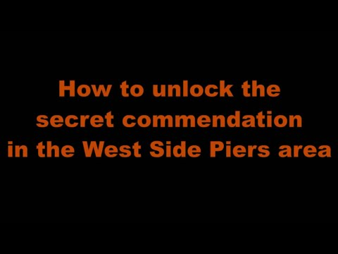 The Division 1.8 - West Side Piers - How to complete the secret commendation - All locations shown