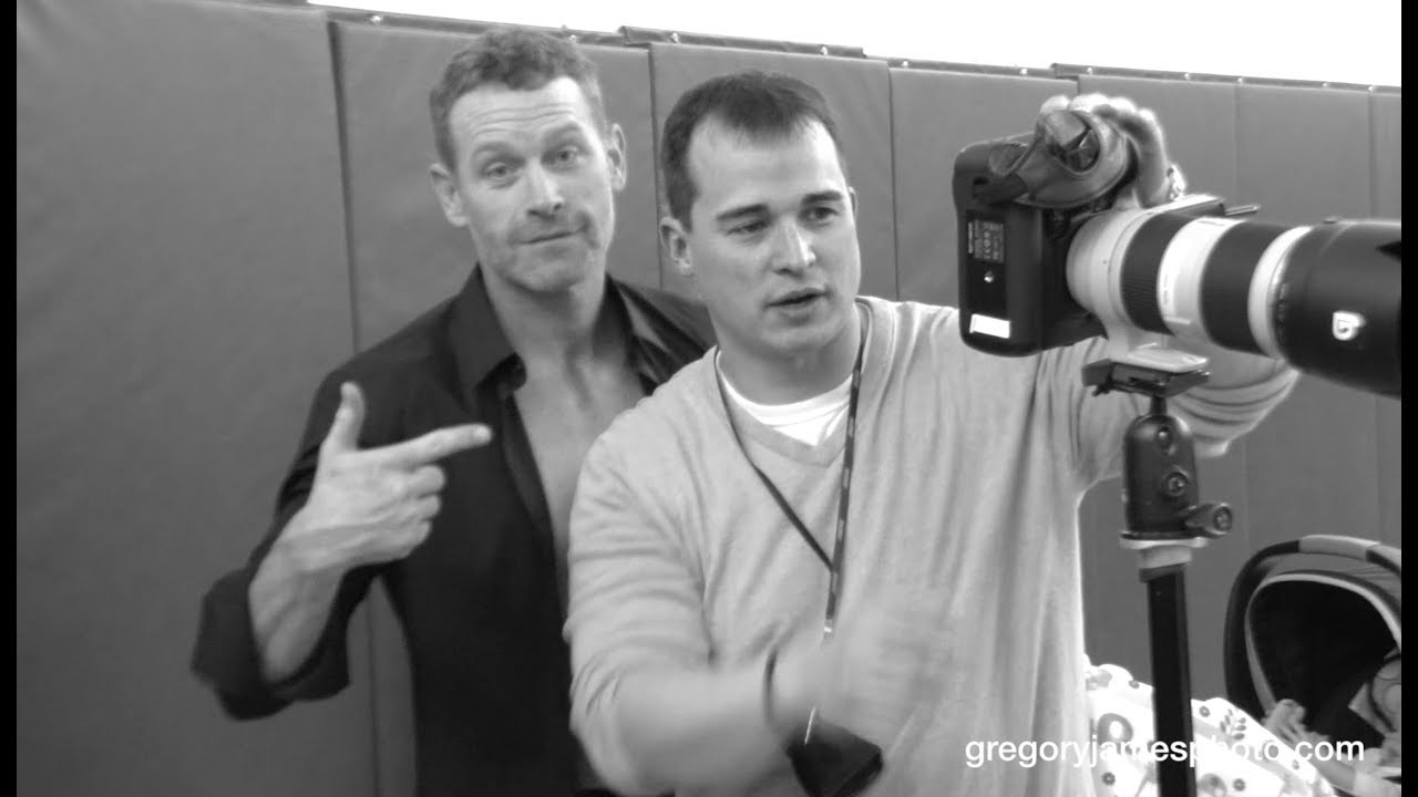 Gregory James BTS Fitness Cover Shoot | Actor Max Martini