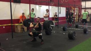 Crossfit Zion Clean Ladder Competition