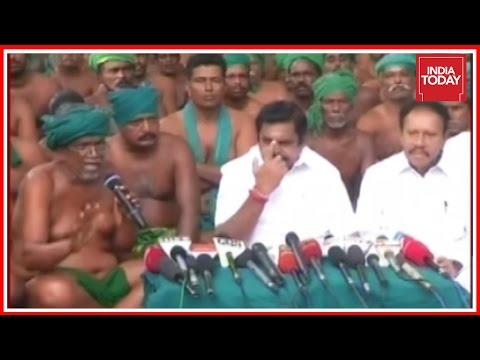 Edappadi K. Palaniswami Meets TN Farmers In Delhi