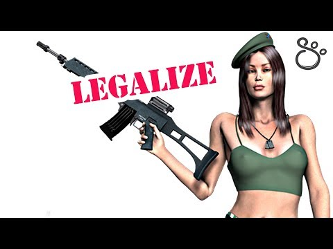 Legalization of weapons, arms & guns for citizens ^^ Russian Beauty