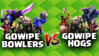 Th8 Gowipe Attack Strategy 2018 + Bowlers & Hogs | Clash Of Clans | Updated Gowipe Attack 2018