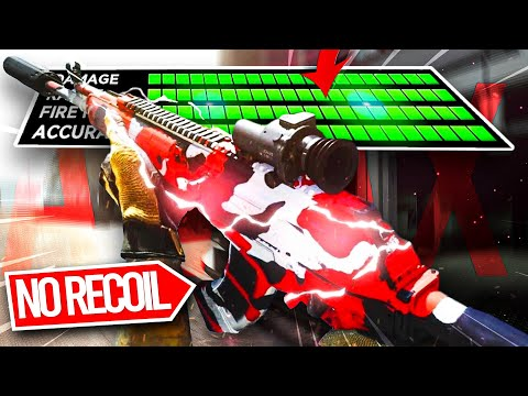 My *NO RECOIL* CR 56 AMAX in WARZONE UPDATE! 🤩 (BEST SETUP) - SEASON 3