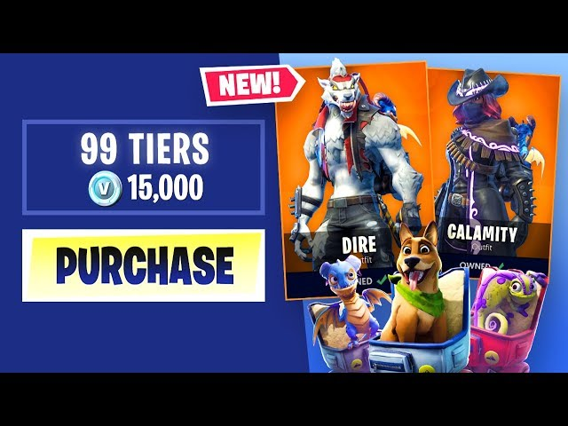 Buying Every Season 6 Battle Pass Tier In Fortnite Battle Royale