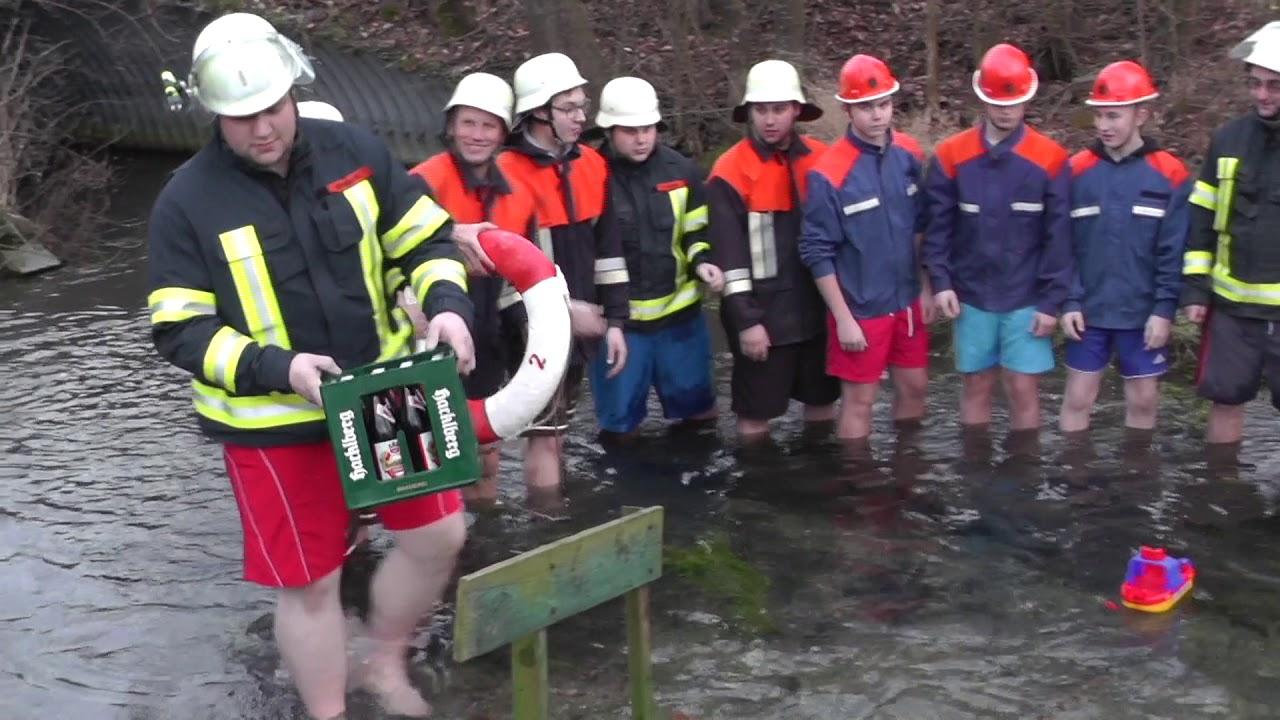 Cold Water Grill Challenge Feuerwehr Mittich Youtube
