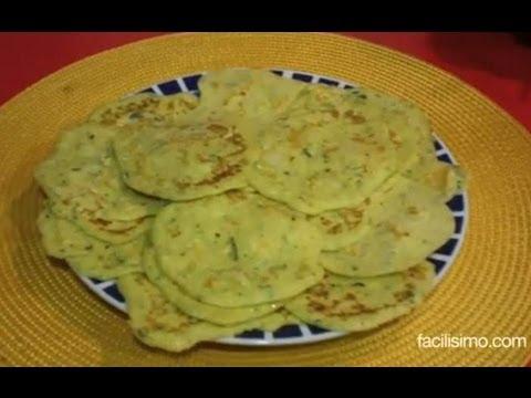 Cómo hacer tortitas de calabacín | facilisimo.com - YouTube