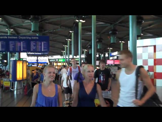 U18 vertrekt naar Israël (18 juli 2010)