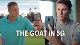 Tom Brady & Rob Gronkowski | Big Game Ad | #TheGOATin5G | T-Mobile