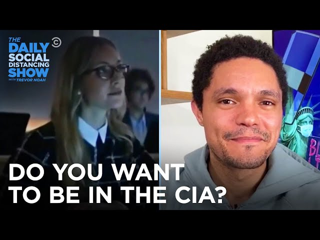 The CIA Is Hiring | The Daily Social Distancing Show