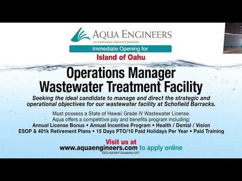 Career Opportunities at Aqua Engineers