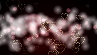 Hearts Background videos | Romantic hearts | Wedding background video | Love Backgrounds