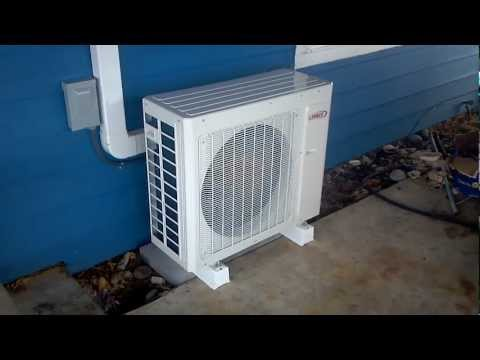 Lennox/COSTCO MS724 10.2 HSPF Ductless Heat Pump @ High RPM
