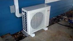Lennox/COSTCO MS724 10.2 HSPF Ductless Heat Pump @ High RPM