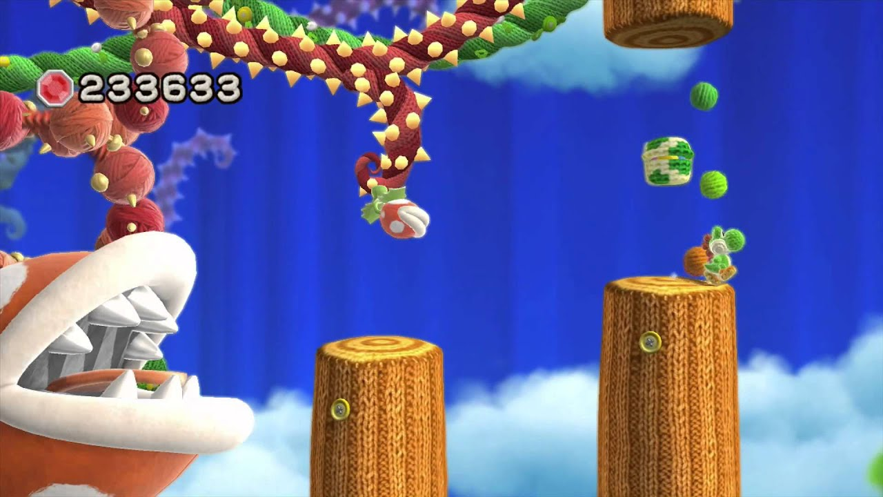 Yoshis Woolly World 100 Walkthrough  Guide  YouTube