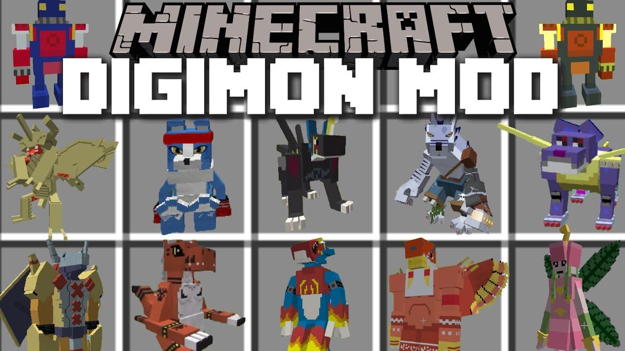 Minecraft DIGIMON MOD SPAWN AND TELEPORT TO THE DIGIMON DIMENSION - Minecraft spieler zum spawn teleportieren