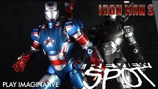 Collectible Spot - Playimaginative Super Alloy Iron man 3 iron Patriot 1/4 Scale Figure