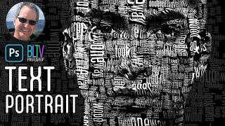 Photoshop Tutorial: How to Create a Powerful Text Portrait from a Photo thumbnail