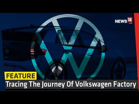 Volkswagen Unveils New Logo and Electric Car (ID.3) at Frankfurt Motor Show 2019