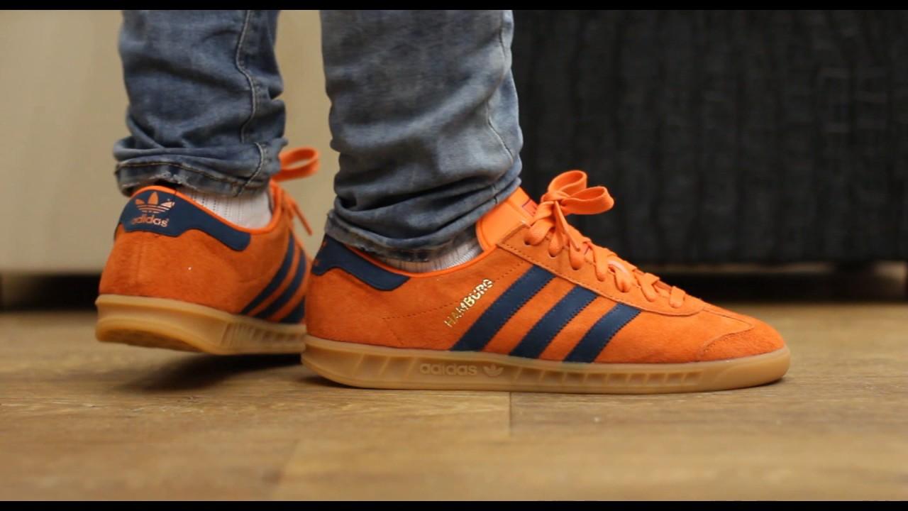 ONFEET | Adidas Hamburg Orange\Black