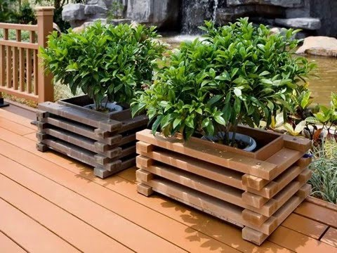 Composite Decking Flower Box Lowes