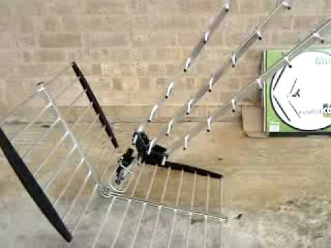 Digital TV Antenna for Freeview In Corsham Wilts UK - Mux 'Magician' High  Gain TV Aerial MP4