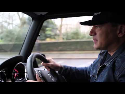 Game Of Thrones star Tamer Hassan takes delivery of his new Mercedes AMG G63