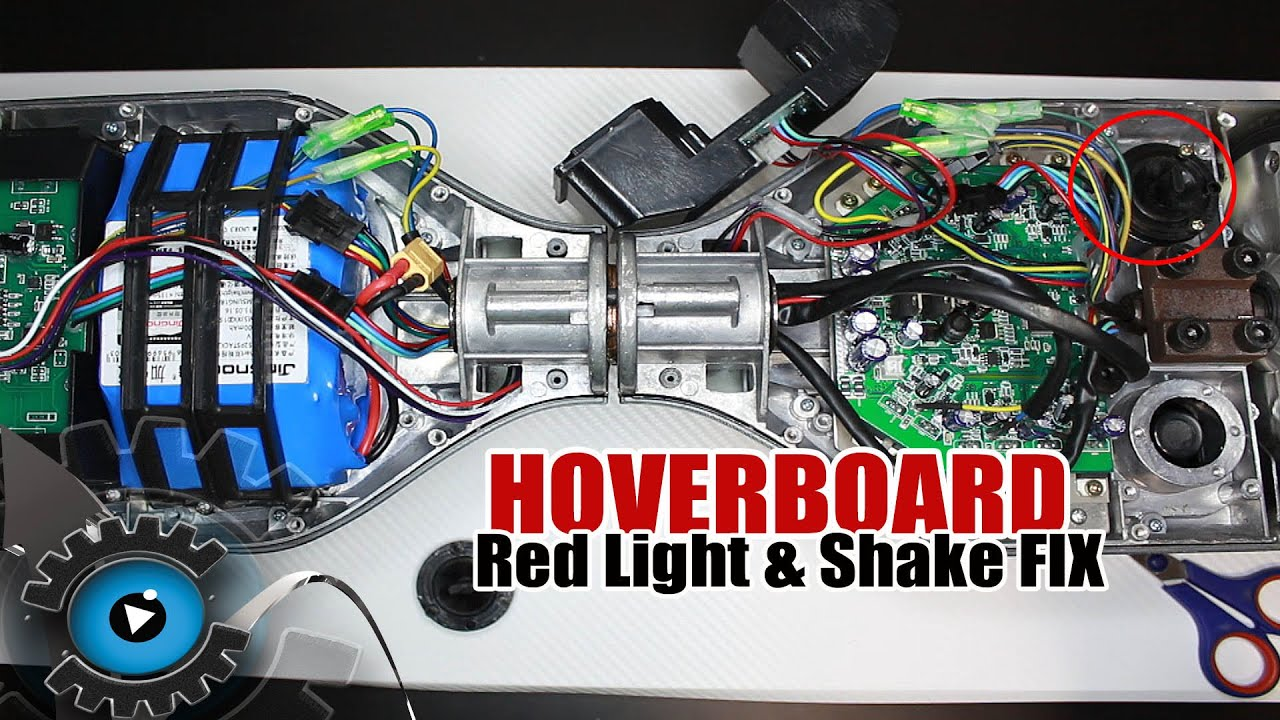 Hoverboard Schaltet sich aus, Schütteln, Rotes Licht Probleme ...
