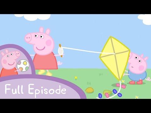 Peppa Pig - Flying A Kite (full Episode)
