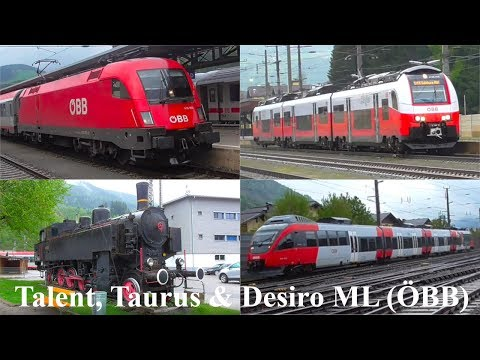 Vonatok az Alpok völgyében - Talent, Taurus, Desiro ML