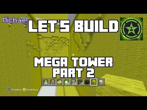 Let's Build in Minecraft - Mega Tower Part 2
