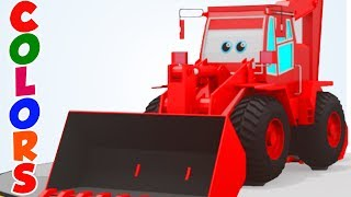 LEARN COLORS with sci fi vehicles in 3D for children, toddlers & babies by Kids Channel