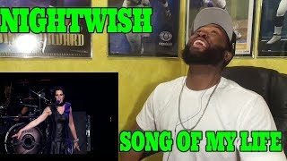 ANYTIME YOU SEE FIRE...   Nightwish - Song of Myself LIVE -REACTION