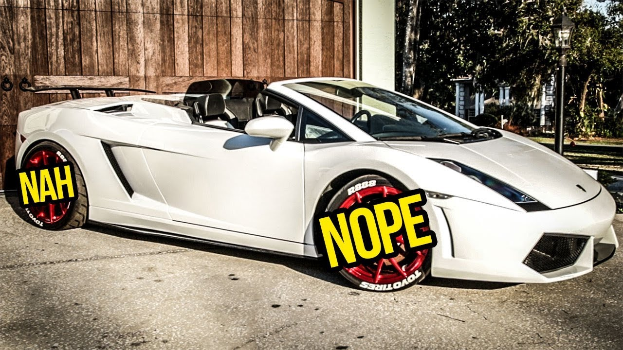 I Gave My Cheap Lamborghini S Ugly Wheels A Huge Upgrade For Not