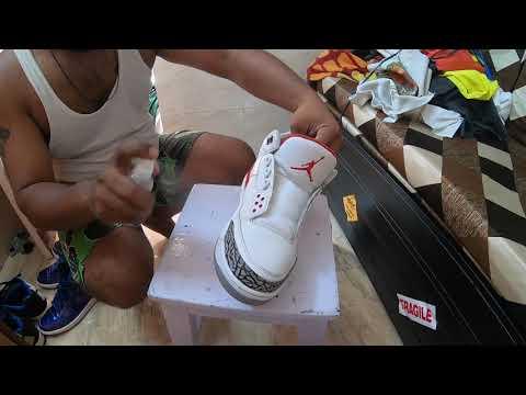 Timewarp Air Jordans Retro 3 cleaning