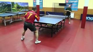 видео Любители пинг-понга