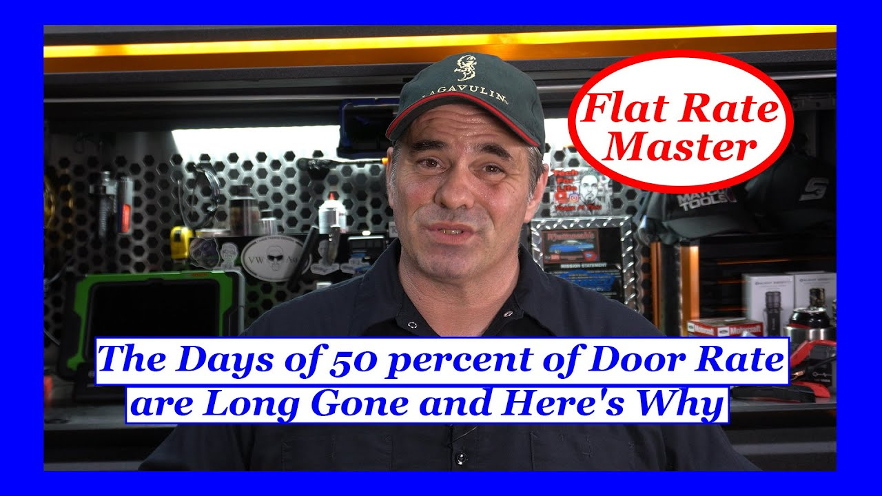 The Days of 50 percent of Door Rate are Long Gone and Here's Why