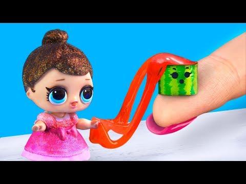 Школьные принадлежности для куклы ЛОЛ – 15 идей!