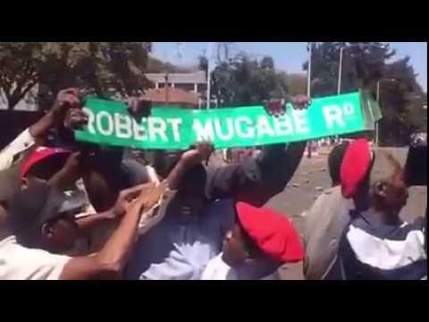 Zimbabwe Opposition Protest