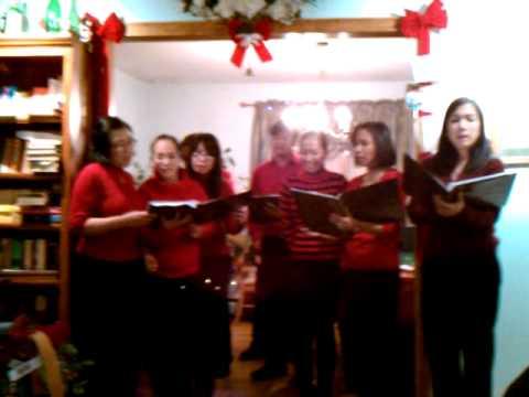 Filipino Christmas Carol: The opening song
